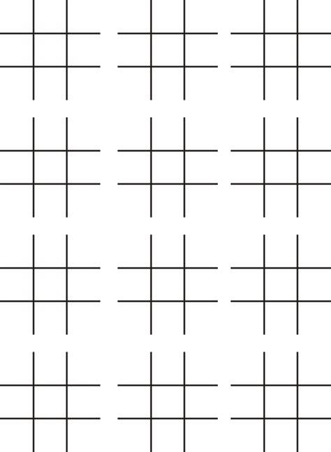 printable paper games printable tic tac toe games 12 3x3 boards