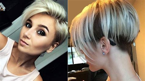 short hair on sides long on top women haircuts womens short best short hair styles