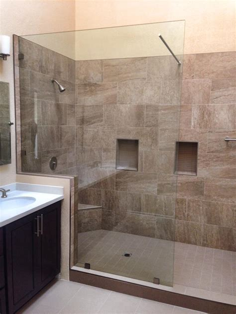 Custom Shower Glass Doors Oak Brook Il Glass Shower Custom Cut Shower Doors