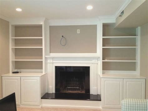diy built in cabinets around fireplace best 25 bookshelves around fireplace ideas on