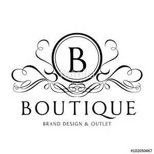 boutique templates quot boutique logo hotel logo luxury brand logo vector logo