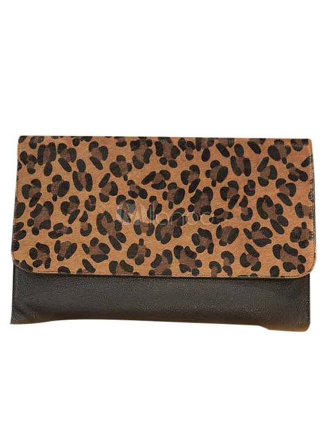Leopard Print Clutch leopard print pu leather clutch p s accessorize with
