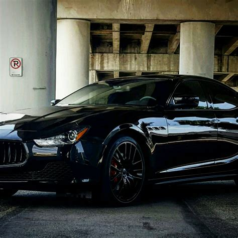 maserati blacked out maserati ghibli blacked out