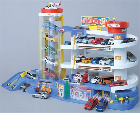 Tomica Auto Parking Garage by Takara Tomy Tomica World Play Set Toys Auto Tomica