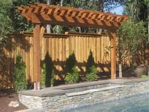 Backyard Renovation Ideas Pool Trellis