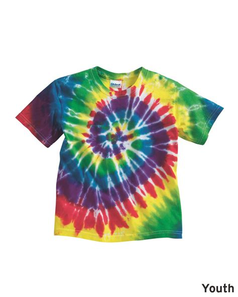 tie dye patterns how to spiral images