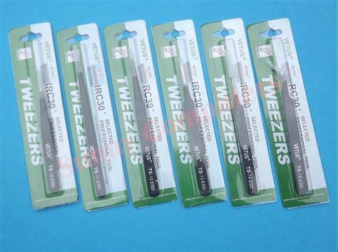 Goot Ts 10 Pinset Tweezers Original vetus original genuine high quality anti static switzerland tweezers ts 15 esd ebay