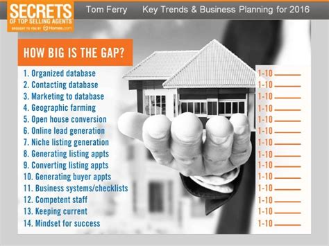 Real Estate Buying And Selling Business Plan Tom Ferry Business Plan Template