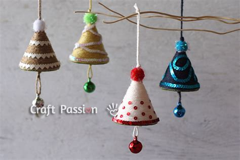 christmas decorations to make at home for free christmas tree ornament diy tutorial craft passion