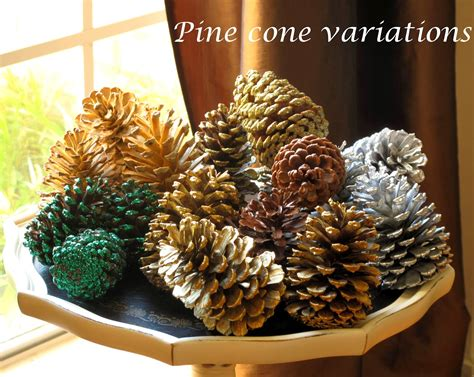 pinecone decorations just judy decorating with pine cones