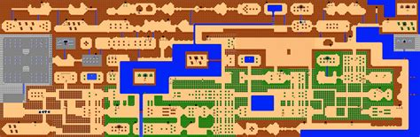Legend Of Zelda Map Nes Walkthrough | nes zelda map by insider1138 on deviantart