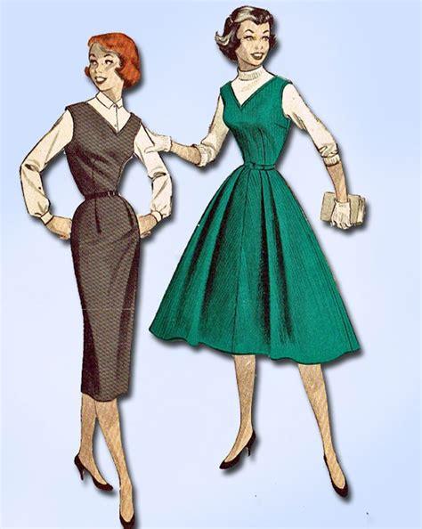 Kalung Fashion Band 0136 312 best retro fashion 1950s butterick images on fashion vintage vintage