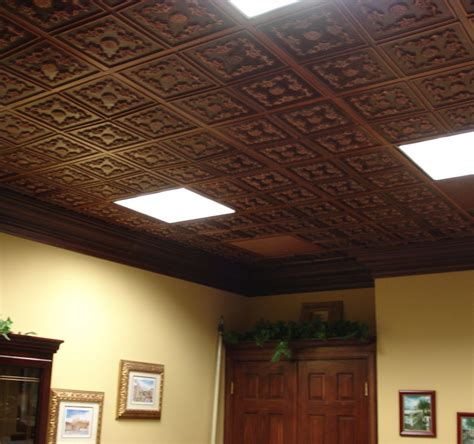Interesting Basement Ceiling Ideas Over Existing Drop Ceiling Finish Options
