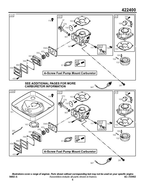 s s b carburetor diagram i a b s 18hp that has been out of use for about