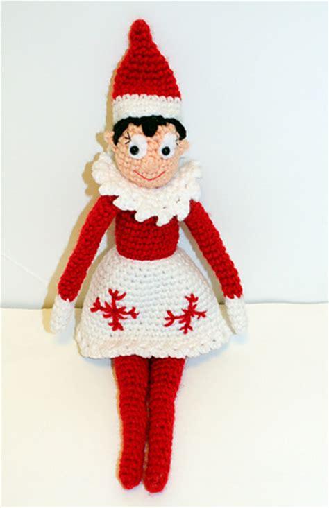 printable elf on the shelf doll ravelry holiday shelf elf crochet doll pattern by mary smith