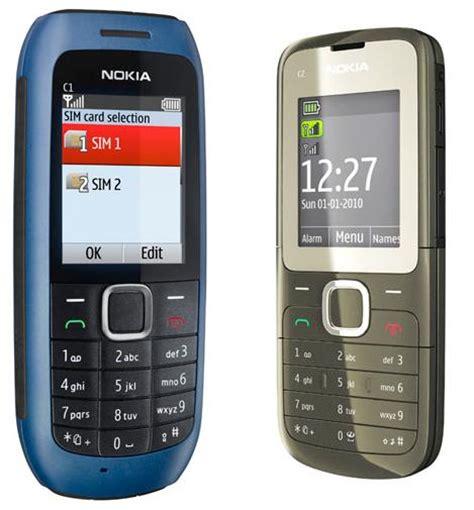 dual sim mobile in india nokia c1 c2 dual sim mobile phone in india specs