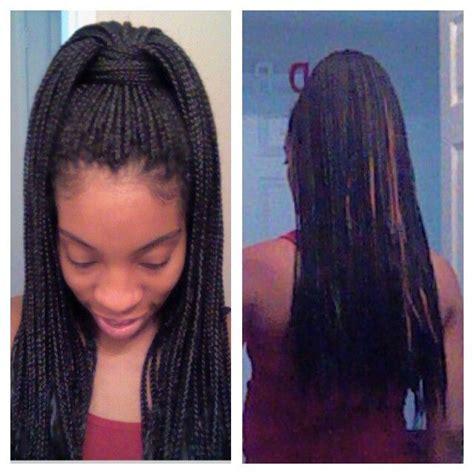 pony hair box braids box braid style poetic justice high ponytail love me