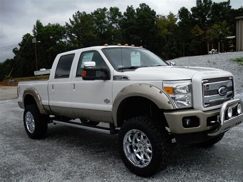 ford truck white ford f 250 white lifted truck my style
