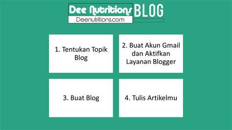 keuntungan membuat website sendiri bagaimana cara membuat website melalui blogger dee