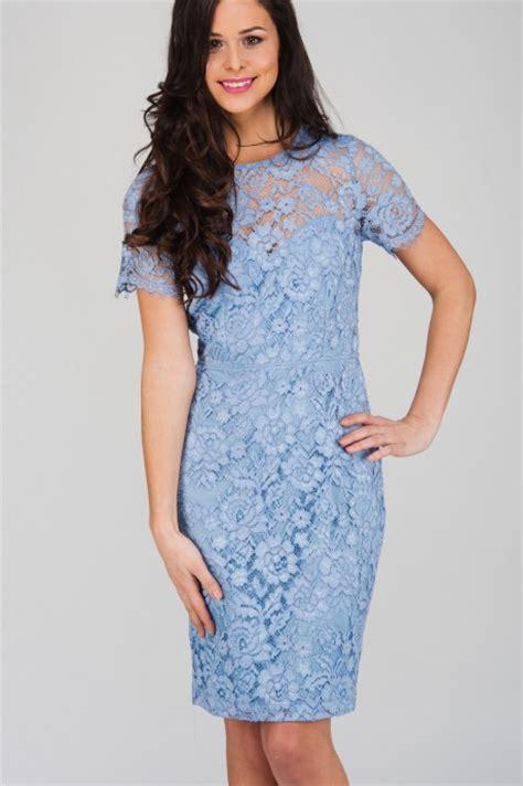 blue pattern lace dress light blue corded lace short sleeve dress jane norman