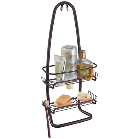 Hanging Bathroom Shower Caddy Cora Hanging Shower Caddy Antique Bronze In Shower Caddies