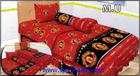 Sprei Bed Cover Katun 120x200x20 Mu 1 sprei manchester united sprei dan bedcover