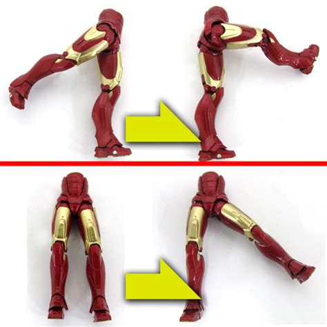 Iron Iii Sci Fi Revoltech No 036 Kw kaiyodo sci fi revoltech no 036 iron 3 otaku hq pvc figure listing