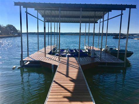 boat dock on lake travis chapman marine lake travis boat dock services