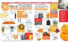 Hgtv Magazine 30 Days Of Thanks Giveaways - 1000 images about got curb appeal on pinterest garage doors carriage house garage