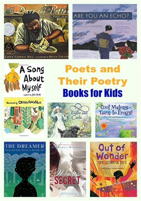 poetry picture books for children poets and their poetry books for pragmaticmom