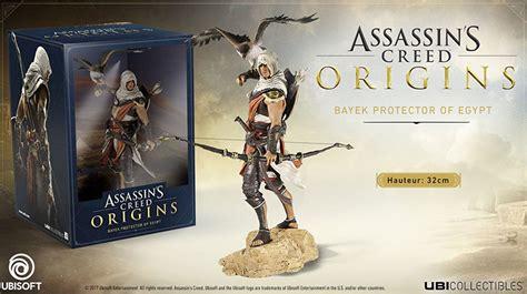 libro assassins creed origins collectors assassins creed origins coffret collector steelbook figurine 2017