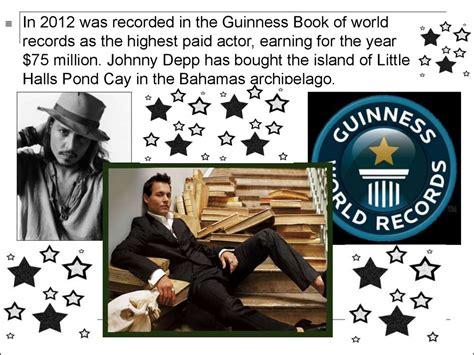 johnny depp biography ppt johnny depp online presentation