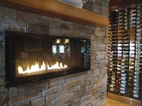 Bars With Fireplaces by Ledge Veneer Interior Fireplaces