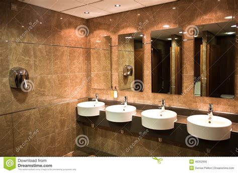 Beautiful Modern Bathrooms - modern public toilet stock photo image 46352956