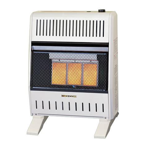 dual fuel ventless infrared heater 18 20 000 btu