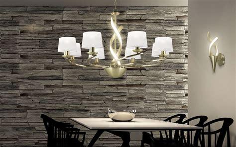 lamparas de techo led  comedor casa diseno
