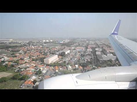 batik air flight number batik air b737 900er pk lbg landing at soekarno hatta