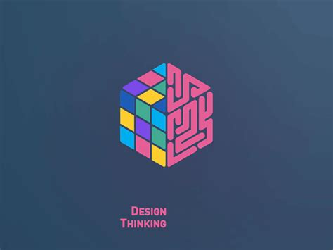 design thinking logo design thinking logo by maryam sasha dribbble