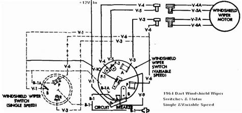mopar wiper motor wiring diagram wiring diagram with