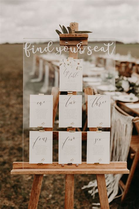 original  stylish ideas   wedding table plan