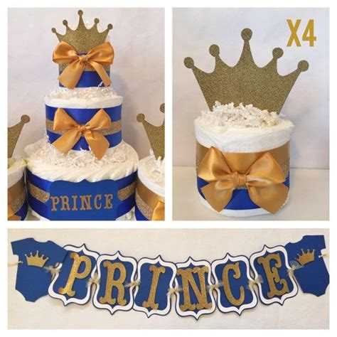 130 best images about royal blue gold prince baby shower