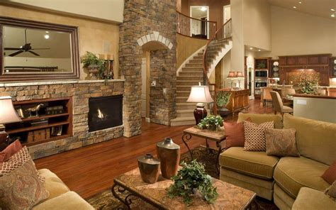 Glamorous Homes Interiors Beautiful Log Home Interior Design Decobizz