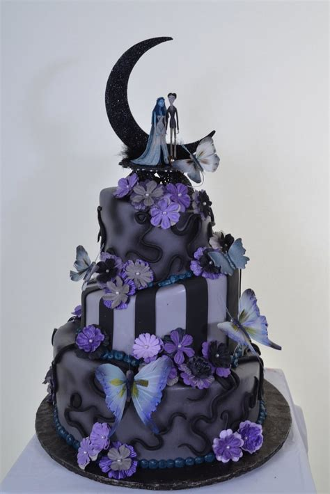 Nightmare Before Cake Ideas - wedding cakes pictures nightmare before wedding