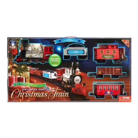 35 piece north pole junction train set christmas tree