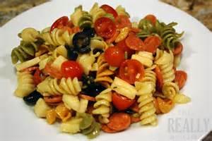 tri colored pasta rotini pasta salad