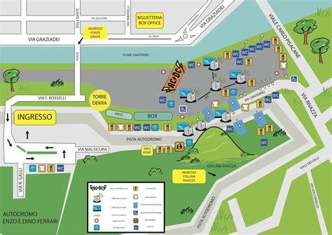 orari ingresso area c ac dc mappa e guida ufficiale concerto di imola