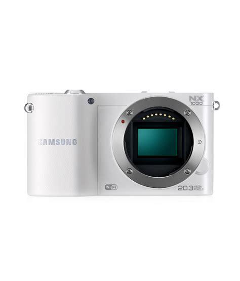 Kamera Mirrorless Samsung Nx1000 samsung nx1000 mirrorless with 20 50mm lens price review