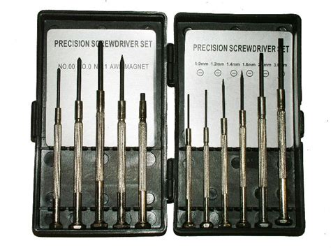 Precision Screwdriver Set 6 Pcs C Mart Tools C0025 Diskon 1 marksman 11 precision screwdriver set 54011c ebay