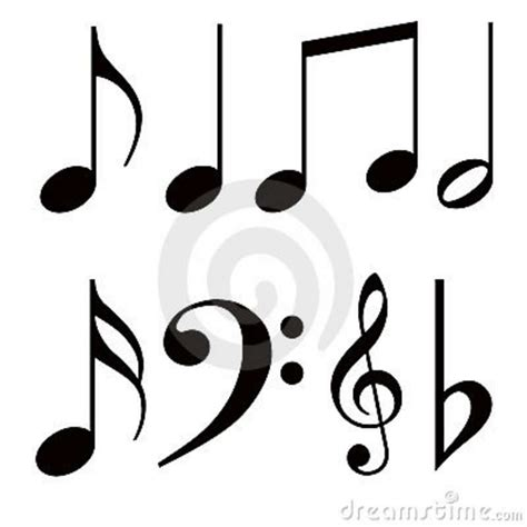 music notes symbol tattoo designs notes symbols tattoos clipart panda free clipart