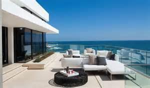 Interior Limestone Walls Beautiful Family Beach House With Stunning Views Modern